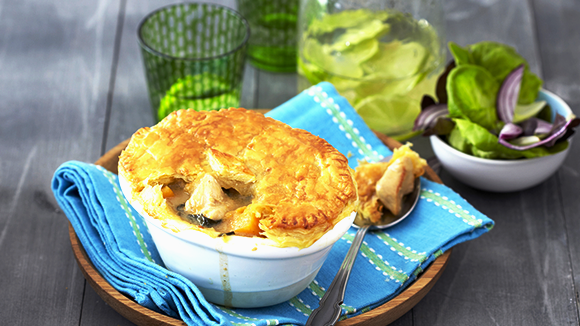 Green Thai Chicken Curry Pies