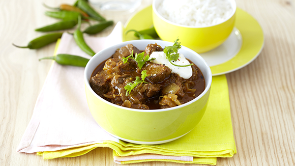 Hot and Spicy Beef Curry