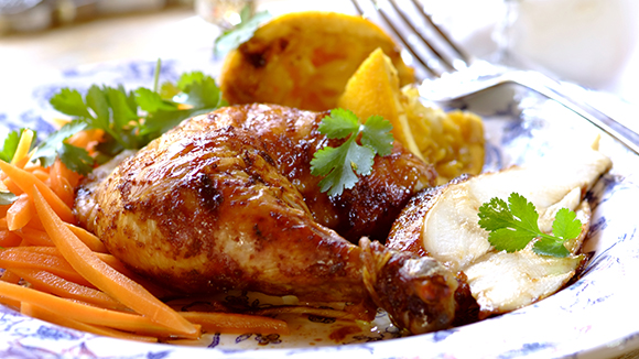 Orange and Soy Roasted Chicken