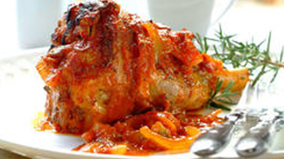 lamb shanks with tomatoes and fresh herbs recipes dishmaps lamb shanks ...