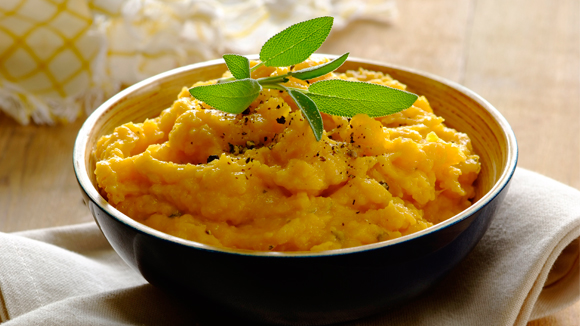 Sage and Nutmeg Butternut Mash