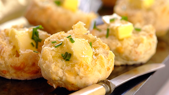 Smoky Cheese Scones