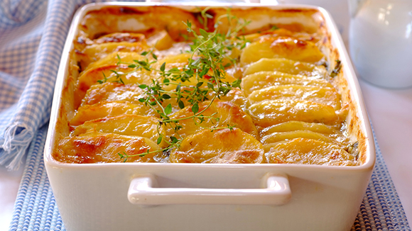 Thai-Spiced Haddock and Potato Bake
