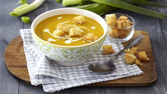 Butternut and Leek Soup