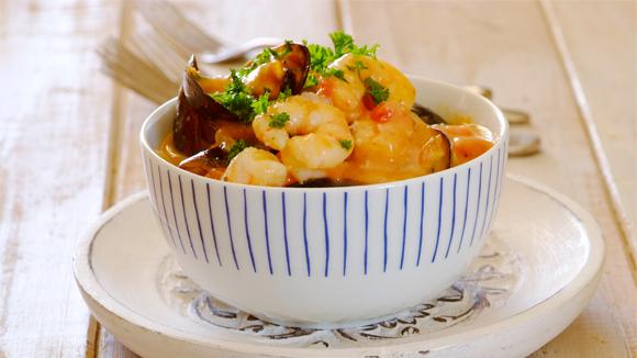 Easy Seafood Potjie
