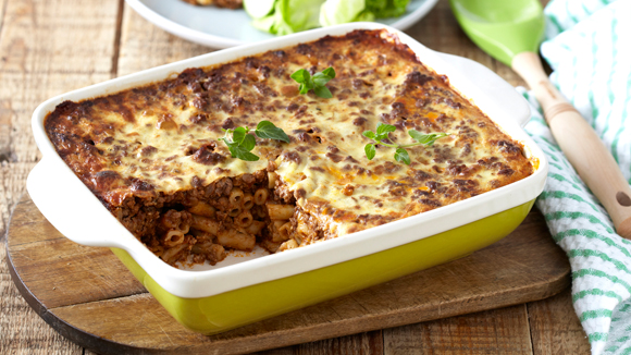 Greek Pastitsio with Lamb Mince