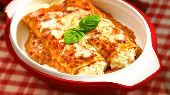 Recipes generally ricotta cannelloni - Platos rapidos y sencillos ...