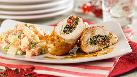 recipe: ensalada rusa con pollo al horno [10]