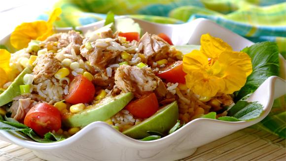 Resultados recetas - Ensalada de arroz y atun ...