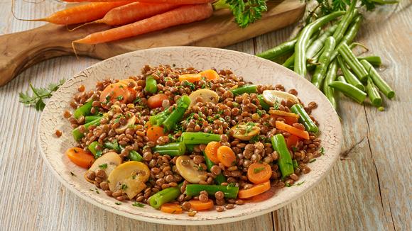 Lentejas con verduras knorr espa a for Cocinar lentejas con verduras
