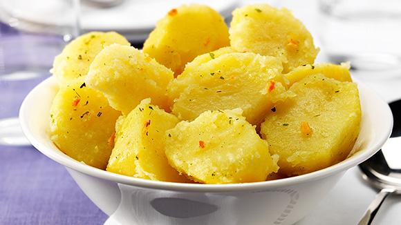 Pommes de terre aux fines herbes
