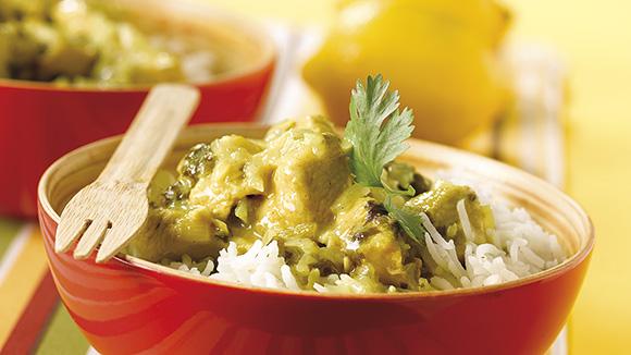Curry de dinde au citron