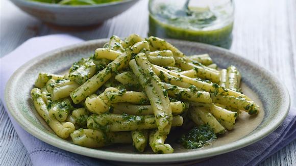 Pesto au basilic et aux graines de tournesol