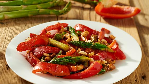 Légumes sautés à l'orientale