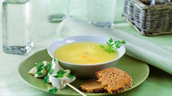 soupe au cidre et brochettes de fromage rezept knorr. Black Bedroom Furniture Sets. Home Design Ideas