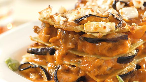 Lasagnes grecques