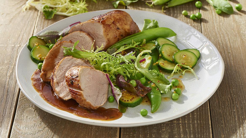 Filet mignon de porc au miel knorr - Cuisiner un filet mignon de porc au four ...