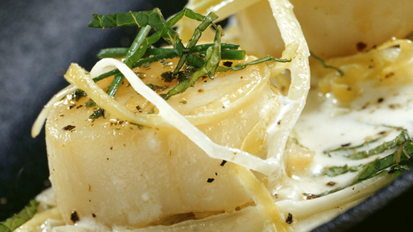 Coquilles Saint-Jacques en habit