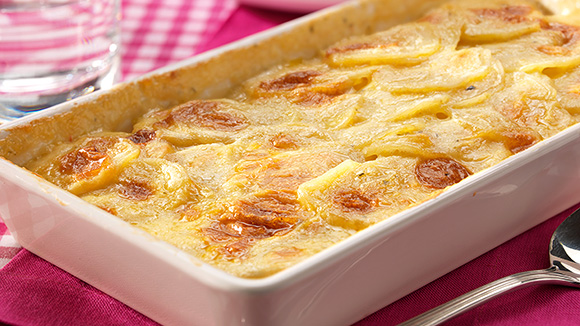 gratin dauphinois recette knorr. Black Bedroom Furniture Sets. Home Design Ideas