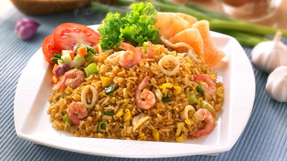 Resep nasi goreng seafood for Authentic indonesian cuisine