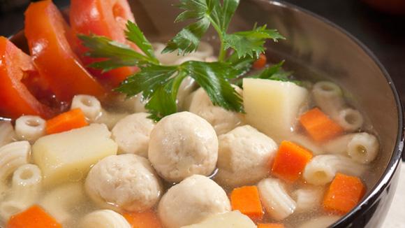 Sup Ayam Macaroni