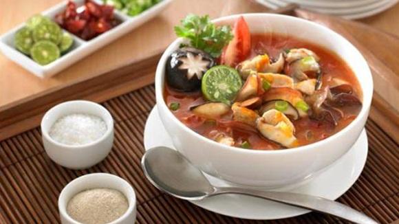Sup Asam Pedas Jamur