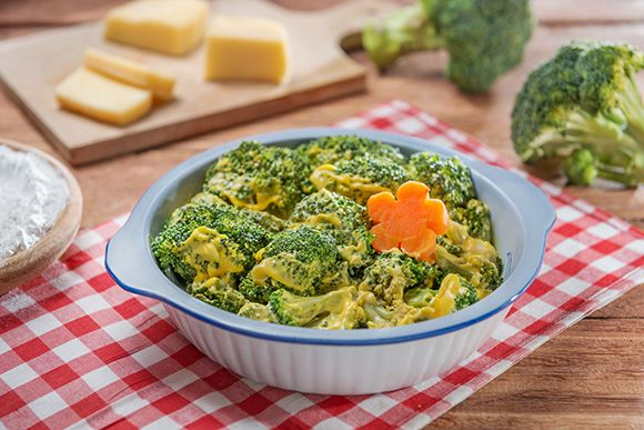 Brocolli and Cheese