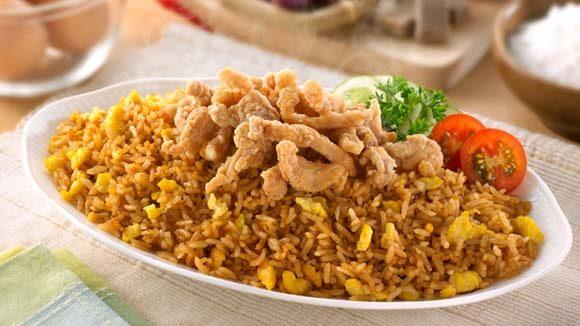 Nasi Goreng Crispy