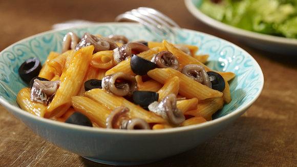 Makkelijke Pasta Puttanesca