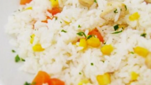 Meu arroz caipira