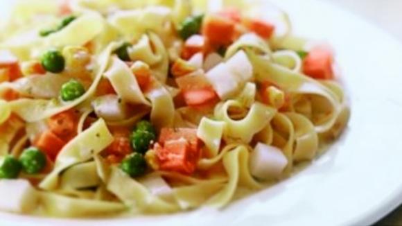 Talharim com legumes