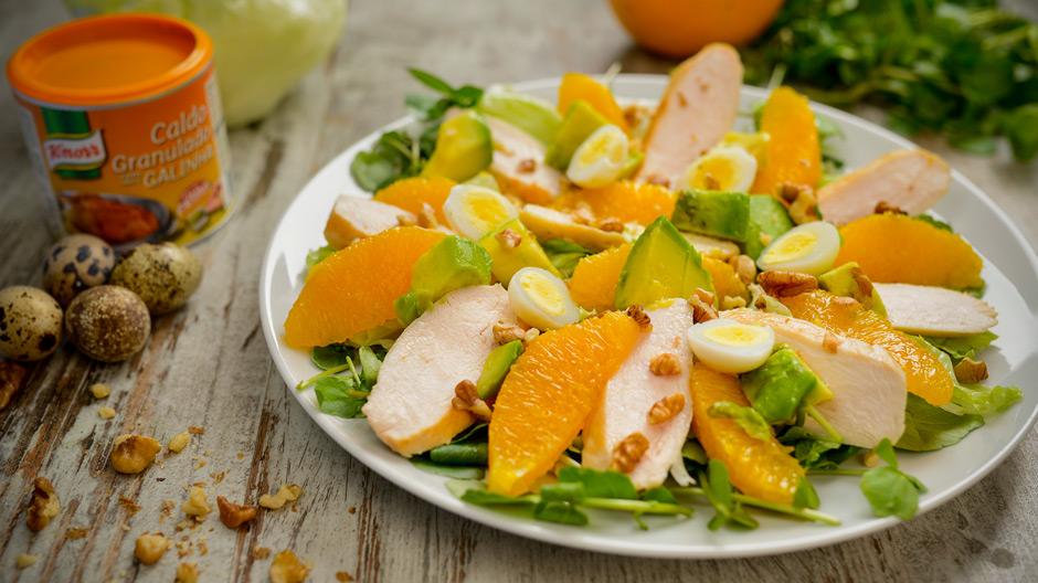 Receita Salada de Frango