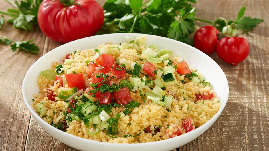 Receita Salada de Cuscus