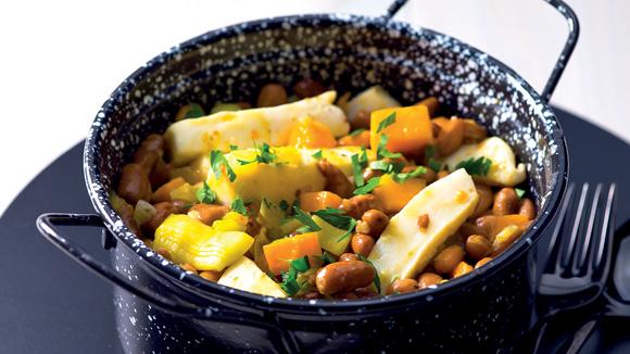 Receita Feijoada de choco com legumes