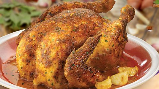 Цыплёнок с чесноком