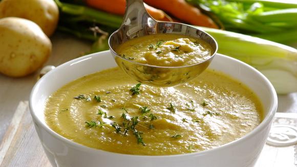 Крем-суп из запеченных овощей