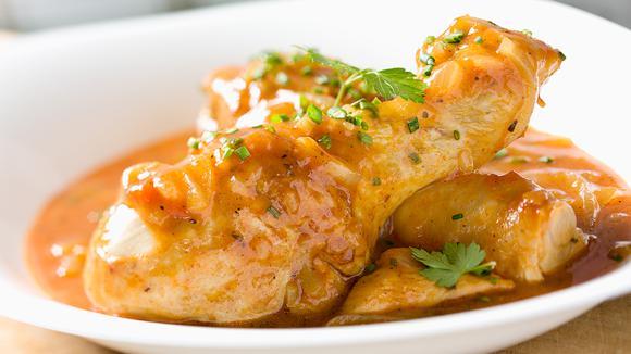 Нежный цыпленок влимонном соусе