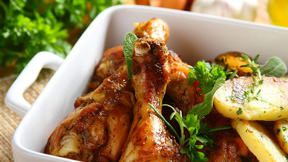 Сочная курица по-цыгански