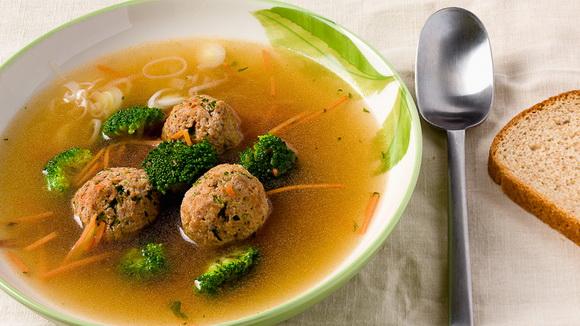 Суп кюфта с фрикадельками