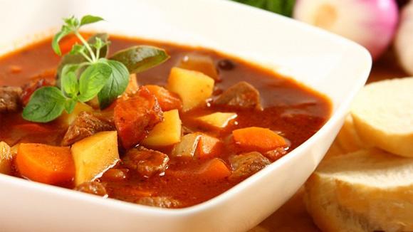 венгерский суп гуляш с говядиной рецепт с фото
