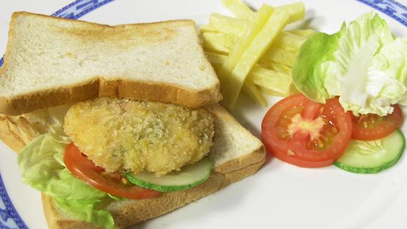 Sandwich kẹp rong biển