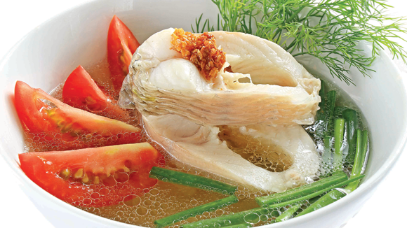 Cá lóc nấu ngót
