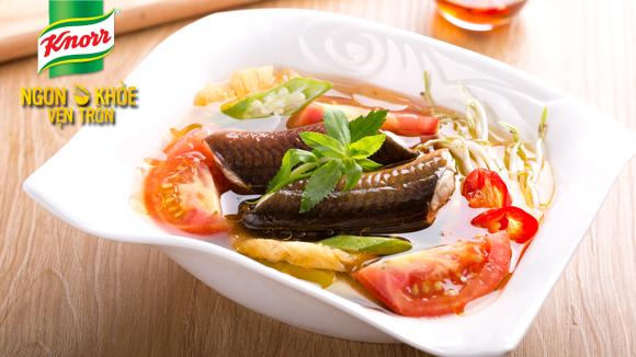 Canh chua lươn