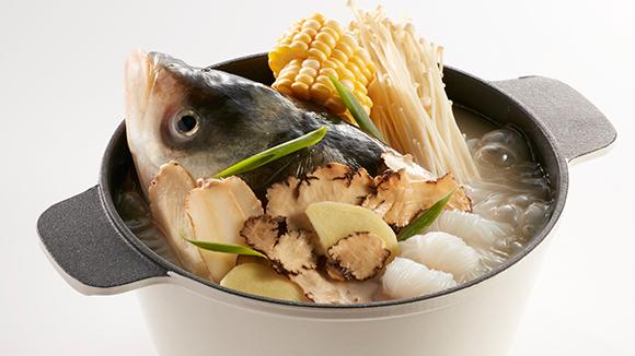 川芎白芷魚頭鍋