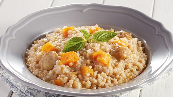 南瓜栗子糙米飯