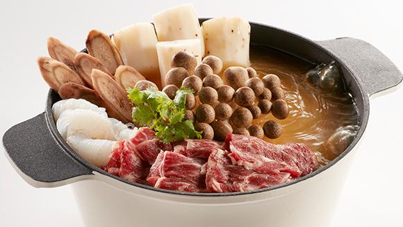 牛蒡山藥牛肉鍋