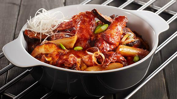 韓式辣雞煲