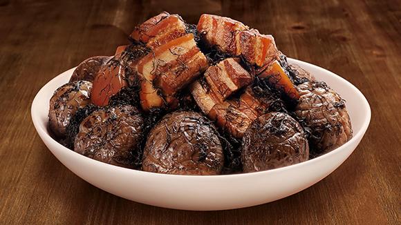 髪菜冬菇炆豬肉