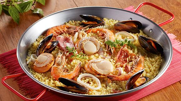 西班牙鐵鍋海鮮飯