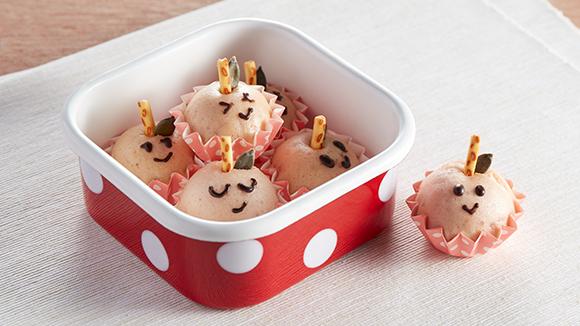 日式草莓蒸雞蛋糕